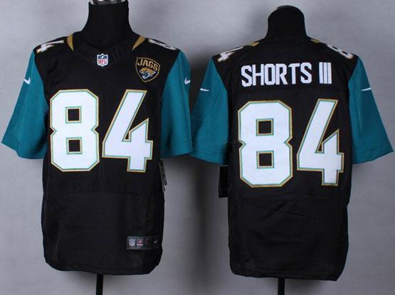 Mens Nfl Jacksonville Jaguars #84 Shorts Iii Black (2013 New) Elite Jersey