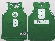 Mens Nba Boston Celtics #9 Rajon (2014 New Christmas) Green Jersey