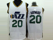 Mens Nba Utah Jazz #20 Hayward White Jersey