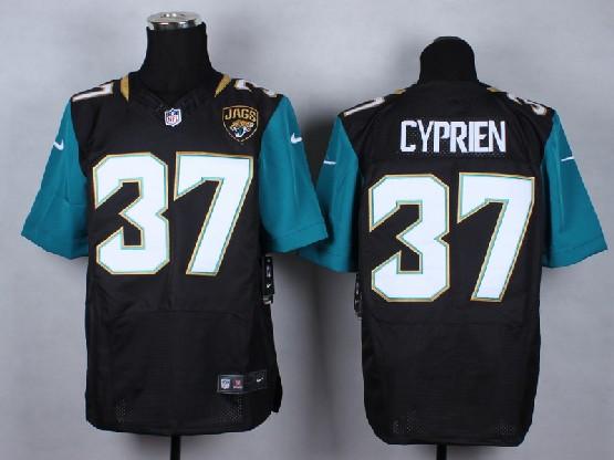 Mens Nfl Jacksonville Jaguars #37 Cyprien Black (2013 New) Elite Jersey