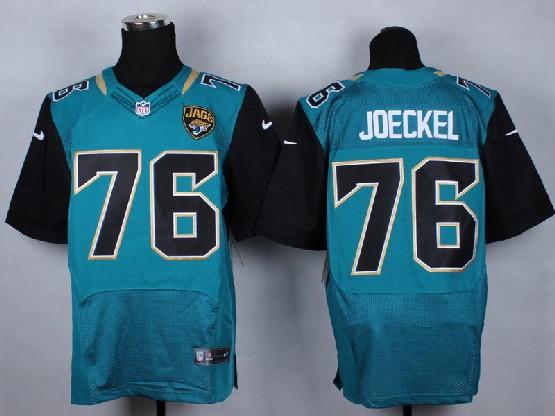 Mens Nfl Jacksonville Jaguars #76 Joeckel Green (2013 New) Elite Jersey