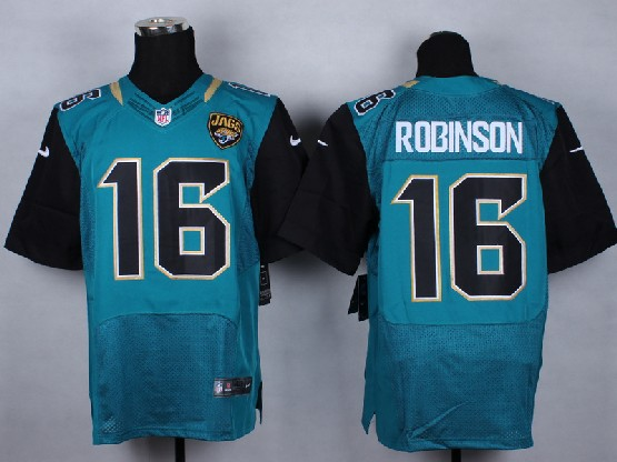 Mens Nfl Jacksonville Jaguars #16 Robinson Green (2013 New) Elite Jersey