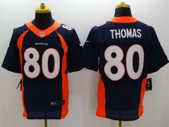 Youth Nfl Denver Broncos #80 Thomas Blue (2014 New) Limited Jersey