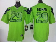 Youth Nfl Seattle Seahawks #29 Thomas Green Game Jersey