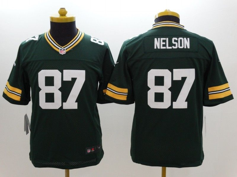 Youth Nfl Green Bay Packers #87 Nelson Green Limited Jersey