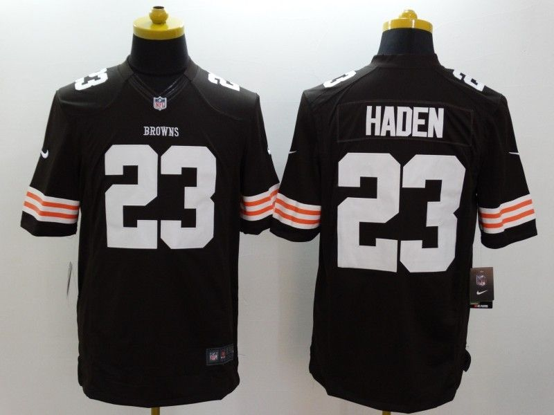 Mens Nfl Cleveland Browns #23 Haden Brown Limited Jersey