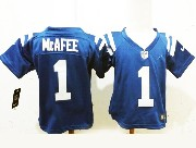 Kids Nfl Indianapolis Colts #1 Mcafee Blue Jersey