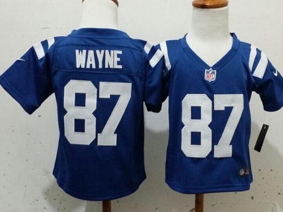 Kids Nfl Indianapolis Colts #87 Wayne Blue Jersey