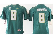 Youth Ncaa Nfl Oregon Ducks #8 Mariota Green (gray Number) Limited Jersey