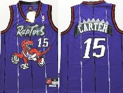 Youth Nba Toronto Raptors #15 Carter Purple Jersey