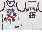 Youth Nba Toronto Raptors #15 Carter White Jersey