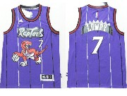 Youth Nba Toronto Raptors #7 Lowry Purple Jersey