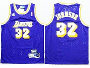 Youth Nba Los Angeles Lakers #32 Johnson Purple Jersey