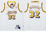 Youth Nba Los Angeles Lakers #32 Johnson White Jersey