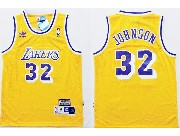 Youth Nba Los Angeles Lakers #32 Johnson Gold Jersey