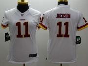 Women  Nfl Washington Redskins #11 Jackson White Limited Jersey