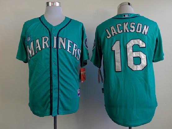 Mens mlb seattle mariners #16 jackson green Jersey