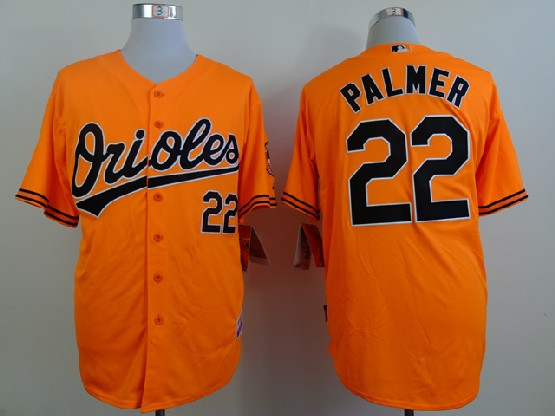Mens mlb baltimore orioles #22 palmer orange Jersey