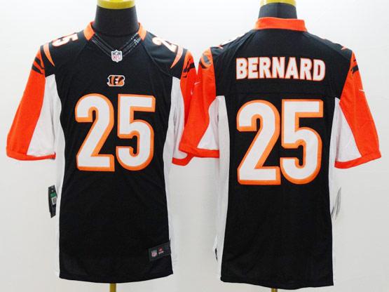 Mens Nfl Cincinnati Bengals #25 Bernard Black Limited Jersey