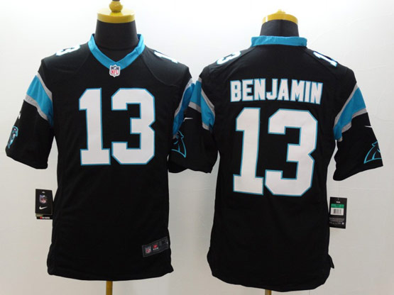Mens Nfl Carolina Panthers #13 Benjamin Black Limited Jersey