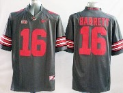Youth Ncaa Nfl Ohio State Buckeyes #16 Barrett Black (red Number) Jersey