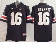 Youth Ncaa Nfl Ohio State Buckeyes #16 Barrett Black (white Number) Jersey