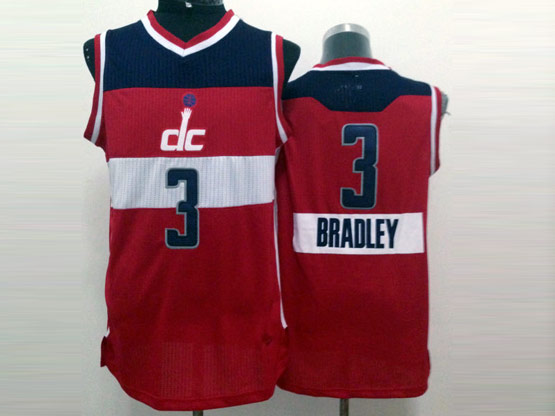 Mens Nba Washington Wizards #3 Beal Red (2014 New Christmas) White Jersey