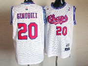 Mens Nba San Antonio Spurs #20 Ginobili White (red Number Chaparrals) Jersey