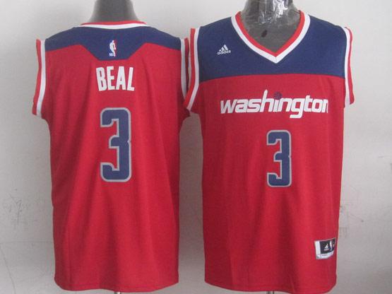 Mens Nba Washington Wizards #3 Beal Red 2014-15 New Swingman Alternate Jersey