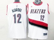 Mens Nba Portland Trail Blazers #12 Aldridge White (blazers) Jersesy