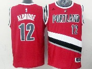 Mens Nba Portland Trail Blazers #12 Aldridge Aldridge Red (blazers) Jersesy