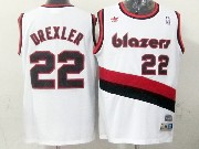 Mens Nba Portland Trail Blazers #22 Drexler White (blazers) Throwbacks Jersesy