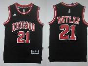 Mens Nba Chicago Bulls #21 Butler ((chicago) Black Jersey