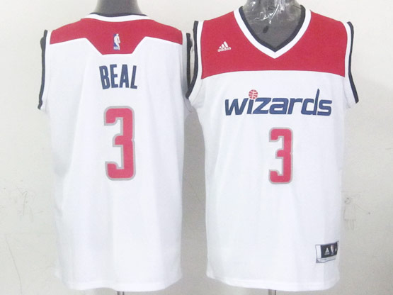 Mens Nba Washington Wizards #3 Beal White 2014-15 New Swingman Jersey