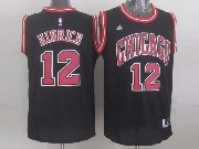 Mens Nba Chicago Bulls #12 Hinrich (chicago) Black Jersey