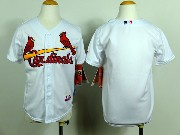 Youth Mlb St.louis Cardinals (blank) White Jersey