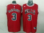 Mens Nba Chicago Bulls #3 Mcdermott (bulls) Red Revolution 30 Jersey (p)