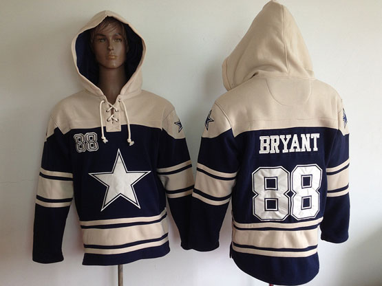 Youth Nfl Dallas Cowboys #88 Bryant Blue (team Hoodie) Jersey