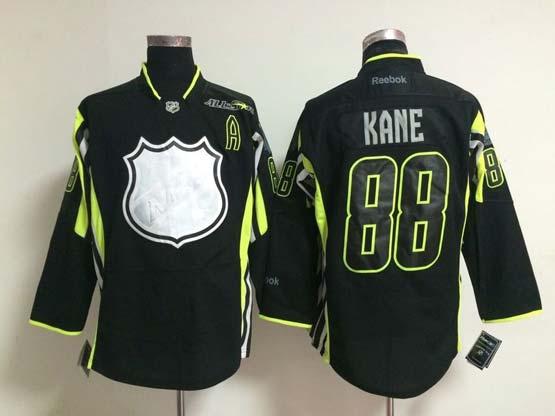 Mens reebok nhl 2015 all star chicago blackhawks #88 kane black Jersey