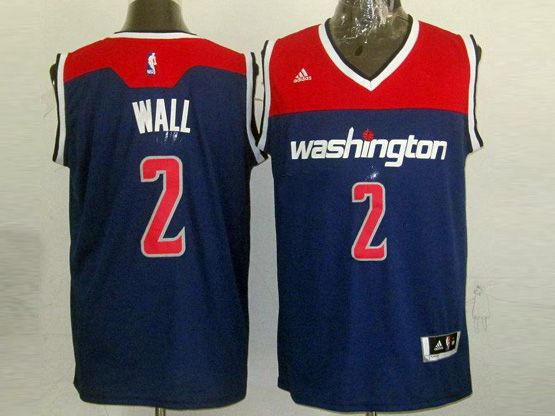 Mens Nba Washington Wizards #2 Wall Blue 2014-15 New Swingman Jersey