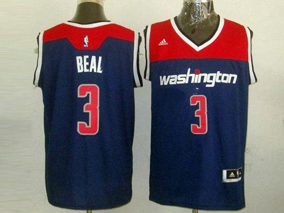 Mens Nba Washington Wizards #3 Beal Blue 2014-15 New Swingman Jersey