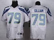 Mens Nfl Seattle Seahawks #79 Gilliam Gray Elite Jersey