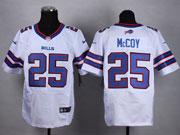 Mens Nfl Buffalo Bills #25 Lesean Mccoy White (2013 New) Elite Jersey