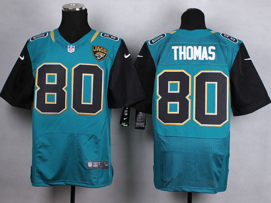 Mens Nfl Jacksonville Jaguars #80 Thomas Green (2013 New) Elite Jersey