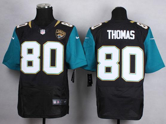 Mens Nfl Jacksonville Jaguars #80 Thomas Black (2013 New) Elite Jersey