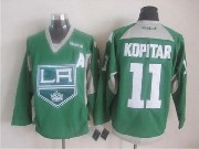 Mens reebok nhl los angeles kings #11 kopitar green (2015 new) Jersey