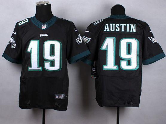 Mens Nfl Philadelphia Eagles #19 Austin Black Elite Jersey