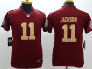 Youth Nfl Washington Redskins #11 Jackson Red Limited Jersey