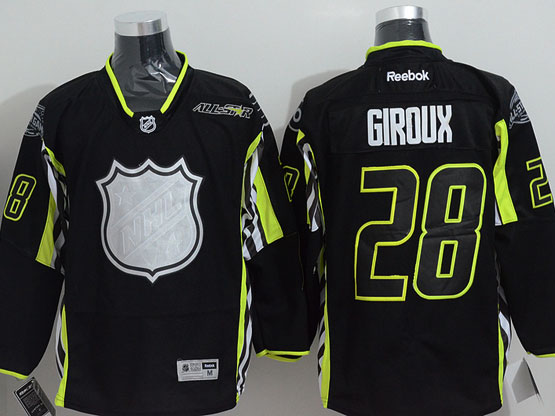 Mens reebok nhl 2015 all star philadelphia flyers #28 giroux black Jersey