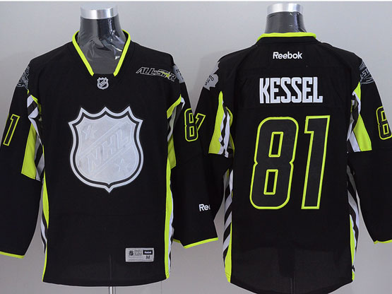 Mens reebok nhl 2015 all star toronto maple leafs #81 kessel black Jersey